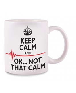 Taza Not That Calm