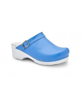 Toffeln Flexi Clog Sky Azul