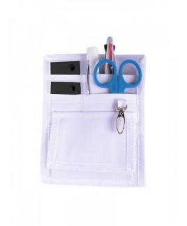 Bolso organizador de cinturón Blanco con accesorios GRATIS