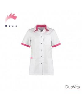 Haen Casaca Sanitaria Fijke White/Shocking Pink