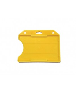Porta tarjetas Amarillo
