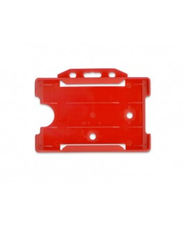 Porta tarjetas Rojo