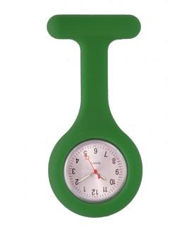 Reloj Enfermera Silicona estándar Verde Oscuro