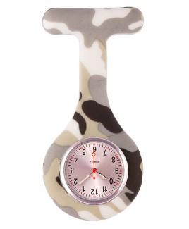Reloj enfermera Silicona Camo