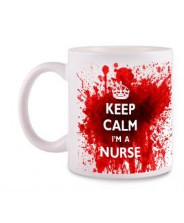 Taza Nurse con tu Nombre