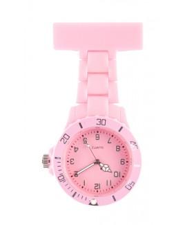 Reloj Neón Rosa