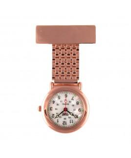 Reloj para enfermeras Jururawat Oro Rosa