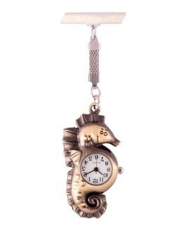 Reloj de enfermeras Caballito Bronce