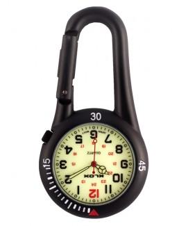 Reloj para enfermeras Mosquetón Luminoso NOC450