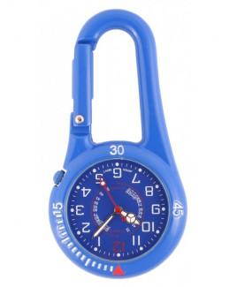 Reloj para enfermeras Mosquetón NOC450 Azul Royal