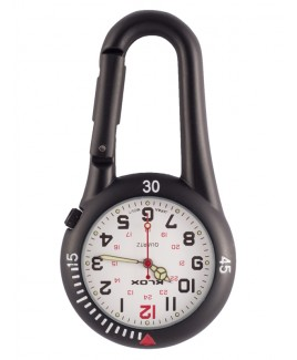 Reloj para enfermeras Mosquetón NOC450 Blanco