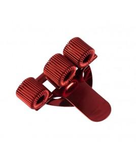 Portabolígrafos Rojo (triple)