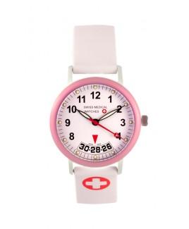 Reloj Médico Suizo Mujer Rosa