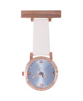 Reloj Enfermera Glamour Blanco